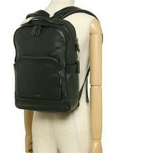 Men's Authentic Coach Leather Backpack